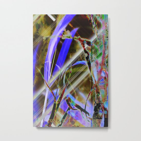Crazy Nature Abstraction Metal Print