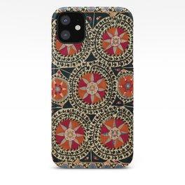 Katti Kurgan Suzani Uzbekistan Embroidery Print iPhone Case