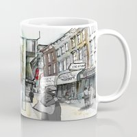 broadway Mugs featuring Broadway, the Divide by Elke Reva Sudin