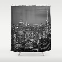 NEW YORK CITY IV Shower Curtain