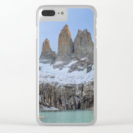 The Base of the Towers II | Torres del Paine National Park, Patagonia Clear iPhone Case