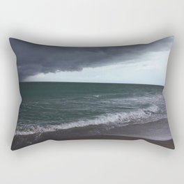 The Edge of the Weather Rectangular Pillow