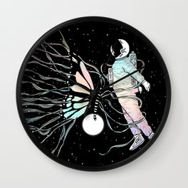 Caught in the Moment (A Memory Encounter) Wall Clock