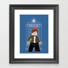 The Doctor (Lego Doctor Who) Framed Art Print