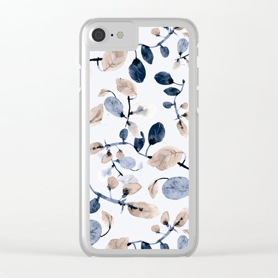 LEAVES 22 Clear iPhone Case