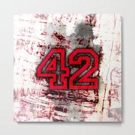 42 Metal Print