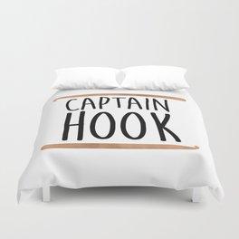 Captain Hook Duvet Cover