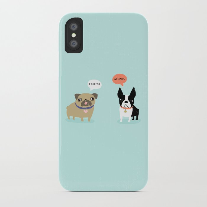 Dog Fart iPhone Case
