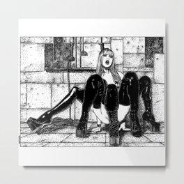 asc 355 - L'orgueil puni (The punishment of Arachne) Metal Print
