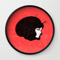 60s Wall Clocks featuring 60s by martiszu