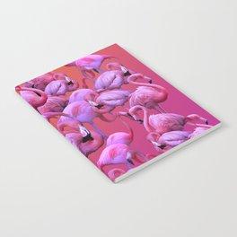 Flamingos Sunrise Notebook
