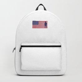 I'm Proud of My Veteran Grandpa Patriotic Backpack