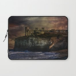 Storm Front On The Seafront Laptop Sleeve