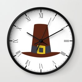 Pilgrims Hat Wall Clock