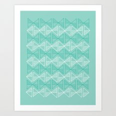 bowties Art Print
