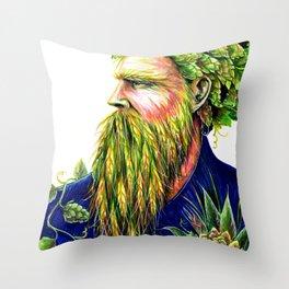 Hopster Throw Pillow