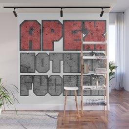 Apex Predator Badass Gym Fitness Traiining Quote Wall Mural