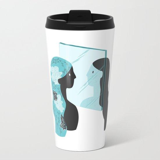 Mirror Selfie Metal Travel Mug