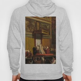 Pope Pius VII in the Sistine Chapel Oil Painting by Jean-Auguste-Dominique Ingres Hoody