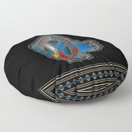 Bear Medicine Floor Pillow