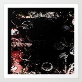 Darkened Awe Art Print