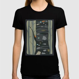 'Tree with moss and lichens' T-shirt