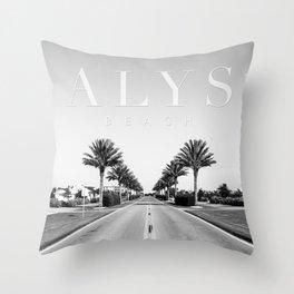 Alys Palms Throw Pillow