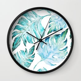 love tropical Wall Clock