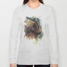 Bison. Long Sleeve T-shirt