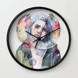 goodmorning world Wall Clock