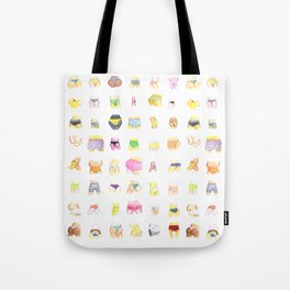 48 Butts Tote Bag