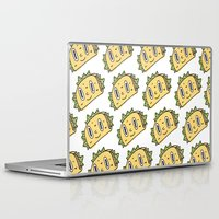 taco Laptop & iPad Skins featuring Taco Buddy by Frenemy