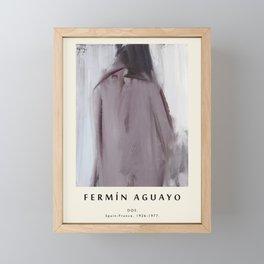 Poster-Fermin Aguayo-Dos. Framed Mini Art Print