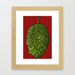 Hops Framed Art Print