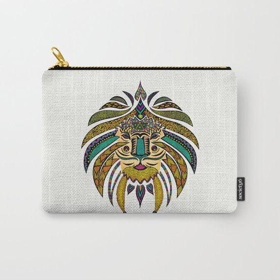 Emperor Tribal Lion Carry-All Pouch