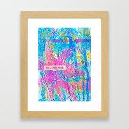 For Whatever Reason Framed Art Print
