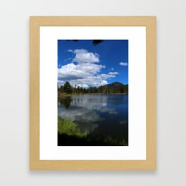 Sprague Lake Reflection Framed Art Print