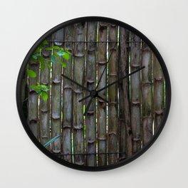 Dreamy Bamboo Wall Clock