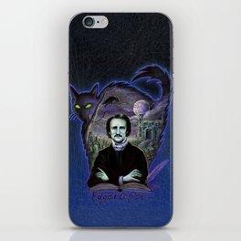 Edgar Allan Poe Gothic iPhone Skin
