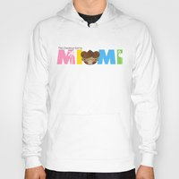miami Hoodies featuring Miami by Ed Warner