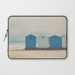 Charmouth beach huts Laptop Sleeve