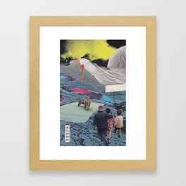 Acid Trip Framed Art Print