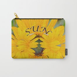 Captured Sun Carry-All Pouch