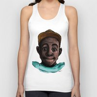 tyler the creator Tank Tops featuring Tyler The Creator by ASHUR Collective™