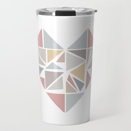 Origami heart Travel Mug