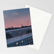 Berlin morning Stationery Cards