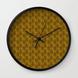 Golden ring Wall Clock