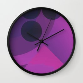 Geometry Shapes Abstract Wall Clock