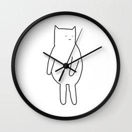 Cat 67 Wall Clock
