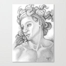 Ignudi after Michael Angelo. Sistine Chapel Canvas Print